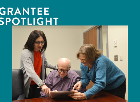 Grantee Spotlight: Tablets & Technology Alleviate Isolation Among Holocaust Survivors