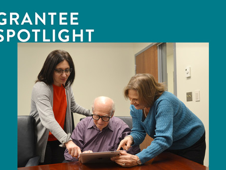 Grantee Spotlight: Tablets & Technology Alleviate Isolation Among Holocaust Survivors