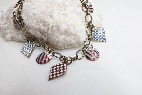 bracelet, charm bracelet, mens bracelet, womens bracelet, fashion accessory, statement piece, military jewelry, patriotic