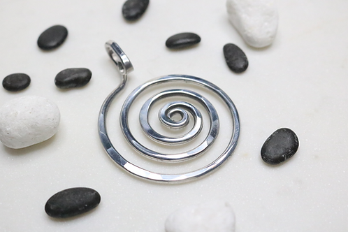 pendant, silver pendant, necklace, jewelry, jewelry for women, online jewelry, costume jewelry, fashion accessory, spirals