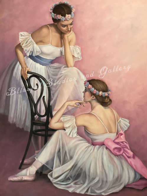 Cloutier Ballerina, Cloutier private conversation, Cloutier ballet