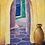 Cloutier art, Greek art, Sea Passage Mikonos, Greek oil painting, Mikinos passage, Cloutier's art, Mikonos art