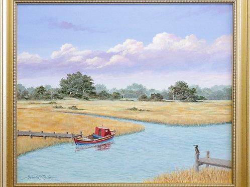 painting, wall art, wall decor, acrylic painting, acrylic art,Gerald Marion painting,Marion art,Marion acrylic,wall hanging