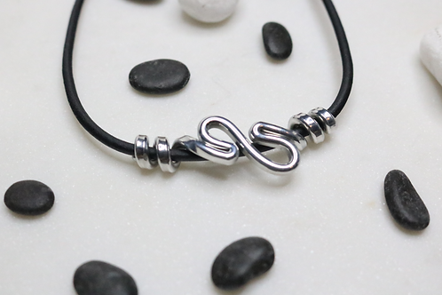 necklace, pendant, silver necklace, leather necklace, jewelry for women, costume jewelry, contemporary jewelry,online jewelry