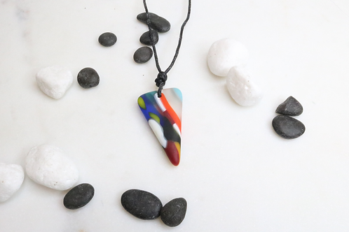 pendant, necklace, shark tooth pendant, shark tooth necklace, lightweight pendant, lightweight jewelry, fashion accessory