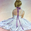 Cloutier ballerina, Cloutier ballet, Ballerina girl, pensive ballerina, ballet dancer