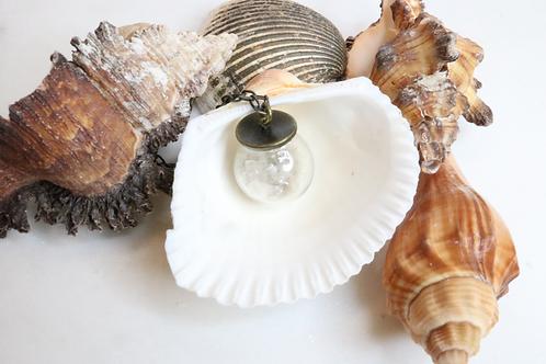 Fish bowl jewelry, whimsical jewelry, playful jewelry, beach jewelry, shell jewelry, North Carolina jewelry, fun jewelry