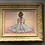 framed ballet dancer, cloutier art, ballet art, ballerina art, dancer art