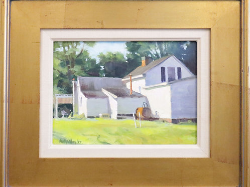 oil painting, wall art, wall hanging, wall decor, home painting, Judy Myler painting, Myler painting, homestead painting
