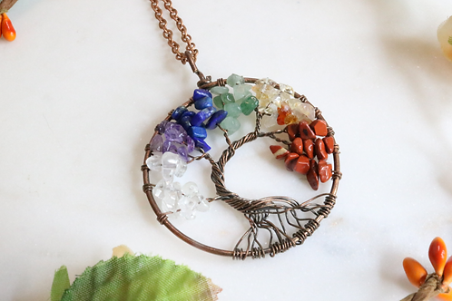 pendant, necklace, tree of life necklace, tree of life pendant, lightweight pendant, fashion accessory, glass pendant