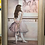 art, wall painting, wall hanging, original art, unique art, ballet painting, ballerina painting, Cloutier painting