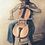 art, wall art, painting, wall painting, original art, unique art, musical art, musical painting, cellist painting,cellist art