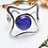 bracelet, silver bracelet, cuff bracelet, stone bracelet, navy bracelet,online jewelry, bracelet cuff, silver cuff bracelet,