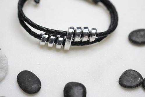 bracelet, leather bracelet, silver bracelet, black bracelet womens bracelet, mens bracelet, costume jewelry, online jewelry,