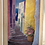 Cloutier art, Greek art, oil painting, Cloutier's Passage to the Bay, Cloutier's Greece, Greek island art, Steps to the sea
