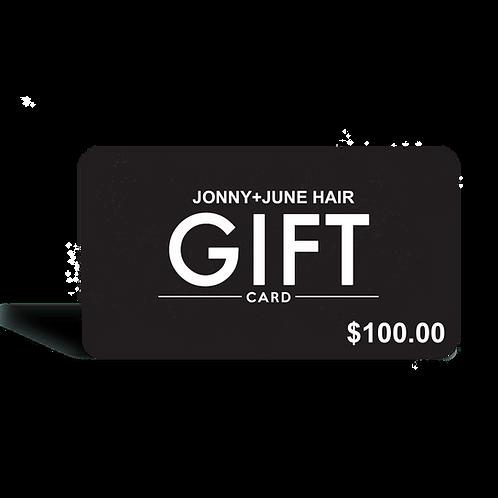 $100.00 JONNY+JUNE Gift Card