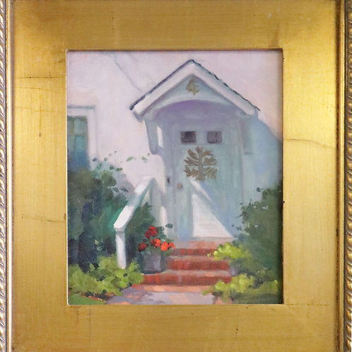 painting, oil painting, wall art, wall decor, wall hanging, Judy Myler painting, Myler painting, entrance painting, home art