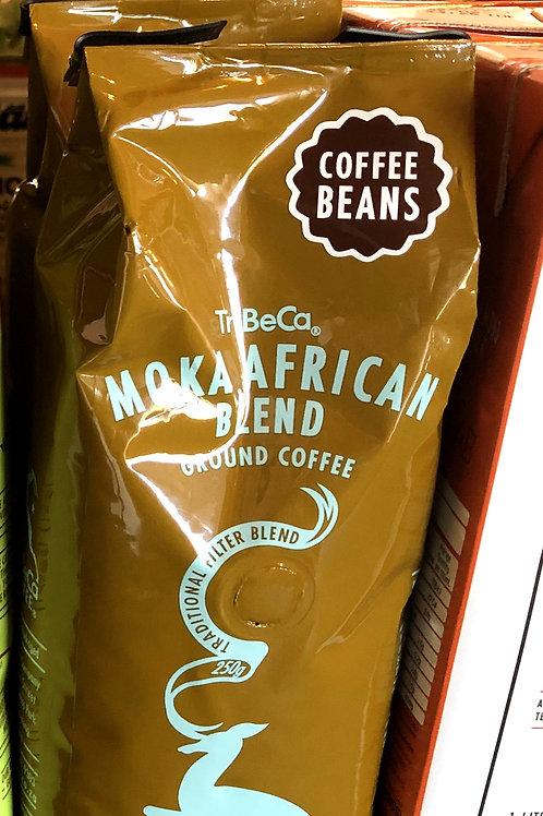 Tribeca Moka African Blend 250g beans