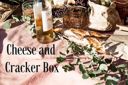 Cheese and Cracker Box