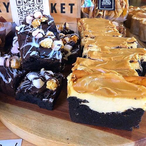 Caramel Cheesecake Brownie