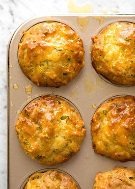Cheese and Sweetcorn Muffins
