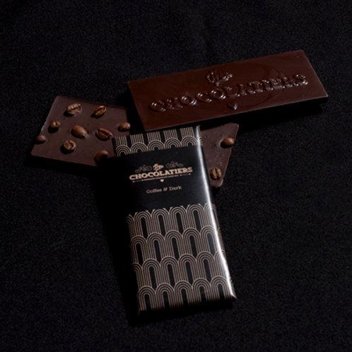 Coffee Bean and Dark Chocolate Bar