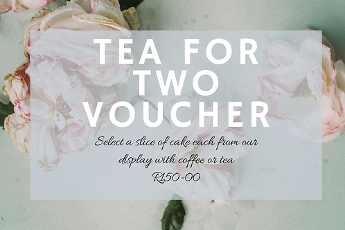 Tea for Two Voucher
