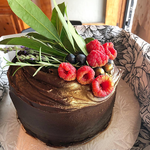 Mini Chocolate Mud Cake
