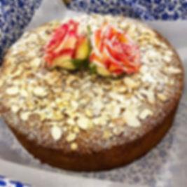 This Orange and Almond Cake! 🙀 #glutenf