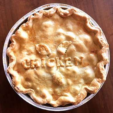 Chicken and Mushroom Pie Family Size
