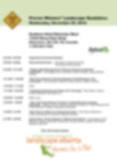 Edmonton Landscape Roadshow Program 11.2