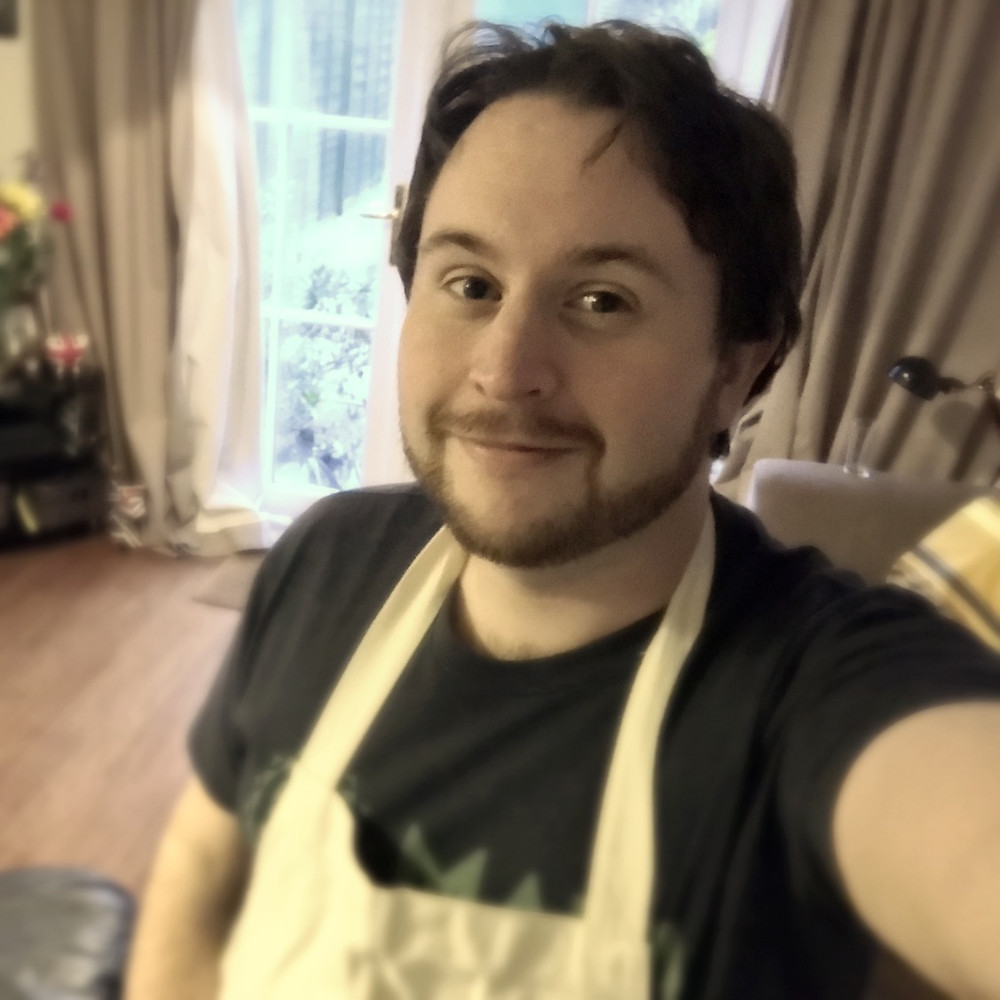 Me in an apron