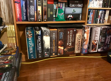 Never Bored with Board(games)