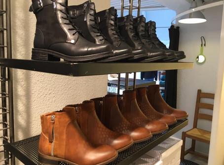 Nyheder på hylderne i butikken - lækre støvler fra Vanting blandt andet!