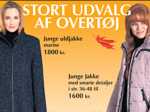 🍂 Stort udvalg af jakker og jumpsuits til efteråret 🍂