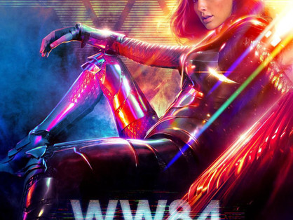 WONDER WOMAN 1984 review by Victoria Alexander