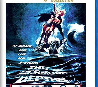 THE BERMUDA DEPTHS Warner Archive Blu-Ray by John Larkin