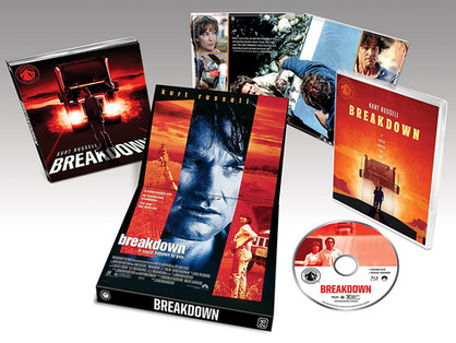 BREAKDOWN - The exceptional thriller arrives on blu-ray from Paramount Presents