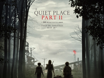 A QUIET PLACE PART II review by Victoria Alexander