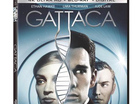 GATTACA Sony Pictures 4K UHD Blu-Ray by John Larkin