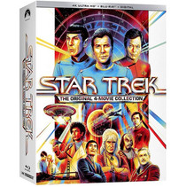 STAR TREK: The Original 4-Movie Collection on 4K UHD - Gene Roddenberry would be proud