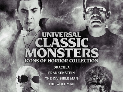 Universal Classic Monsters: Icons of Horror Collection in 4K UHD - An Ultra High-Def treat!