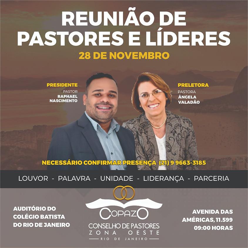 Reunião de Pastores e Líderes