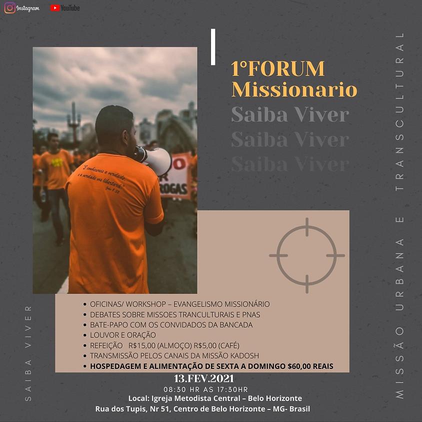 1º Forum de Missões