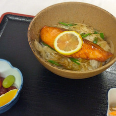 Salmon Teriyaki-Don $14