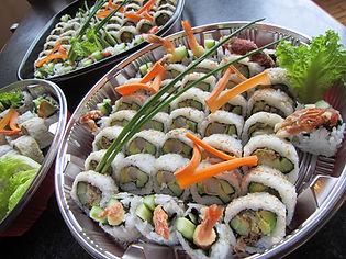 64 pc Sushi Platter