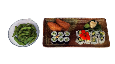 Vegetarian Sushi Combo