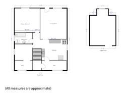 26 West 41 Floor plan Upper Suite