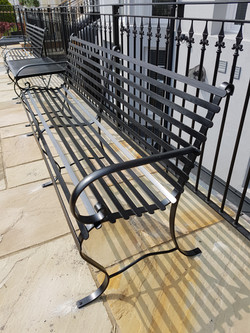 Forged steel bench