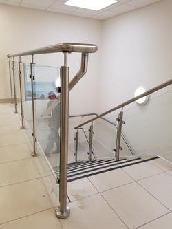 Stainless balustrade
